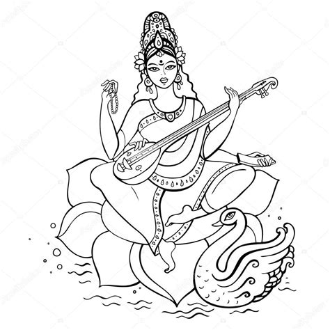 coloring page for hinduism gods coloring pages