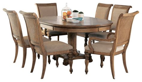 7 piece round dining room set american drew grand isle 7 piece round dining room set in