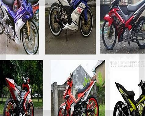 Modifikasi Jupiter Mx Ayago by Modifikasi Jupiter Mx Terbaru King 135 150 Cc Standar 5