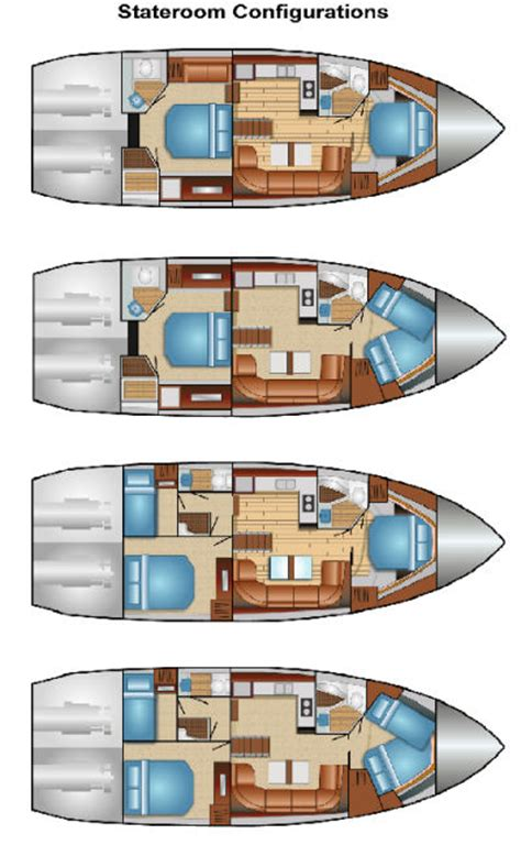 houseboat layout design new regal 5260 raises the bar for american builders