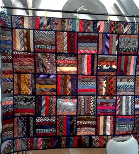 Silk Tie Quilts Patterns by 1000 Ideas About Necktie Quilt On Tie Quilt