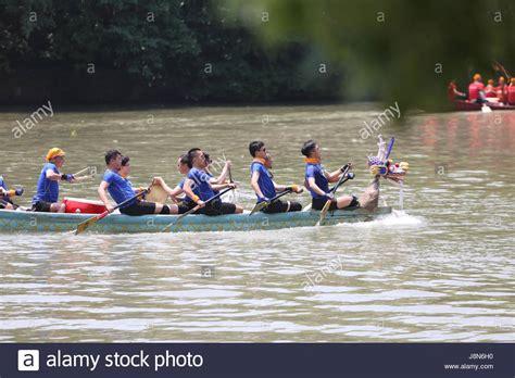 national capital dragon boat festival hangzhou china s zhejiang province 30th may 2017 a