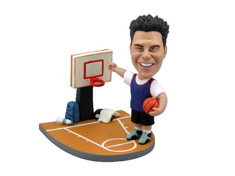 bobblehead basketball slam dunk basketball bobblehead