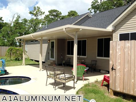 Aluminum Covered Patios by Aluminum Insulated Patio Cover In Baytown 187 A 1