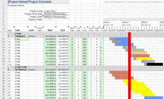 Sheets Gantt Chart Template by Creating A Gantt Chart With Excel Is Getting Even Easier