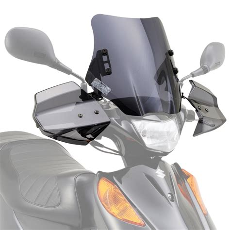 daytona aero knuckle visor windshield suzuki address v125 ebay