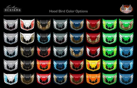 trans colors km trans am bird colors what is your favorite