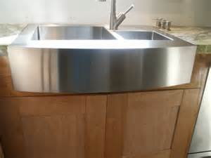 interior stainless steel apron front sink mixed classical