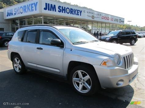 silver jeep compass 2007 bright silver metallic jeep compass limited 4x4