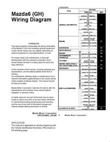 mazda 6 gh wiring diagram 6 mazda free wiring diagrams