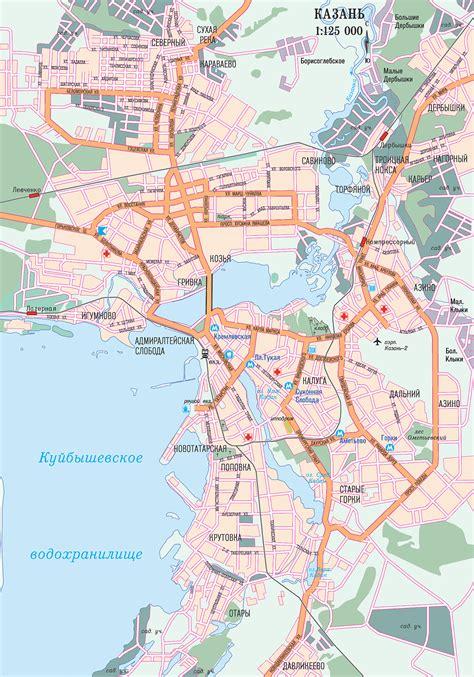 maps kazan russia map of kazan city maps of russia planetolog