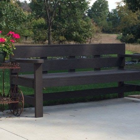 simple park bench plans modern park bench simple plans backyard tutorials pinterest do it yourself