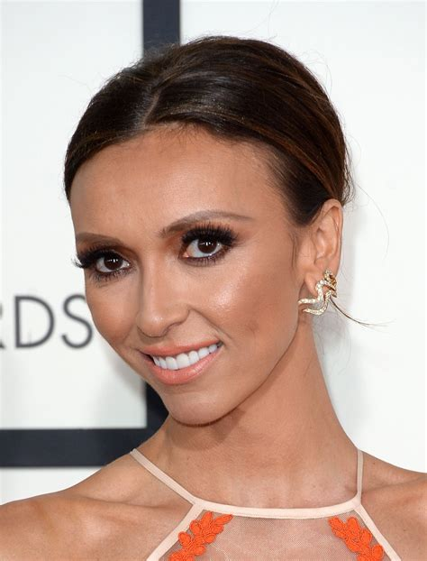 julia rancic new haircut giuliana rancic at the 56th annual grammy awards celebzz