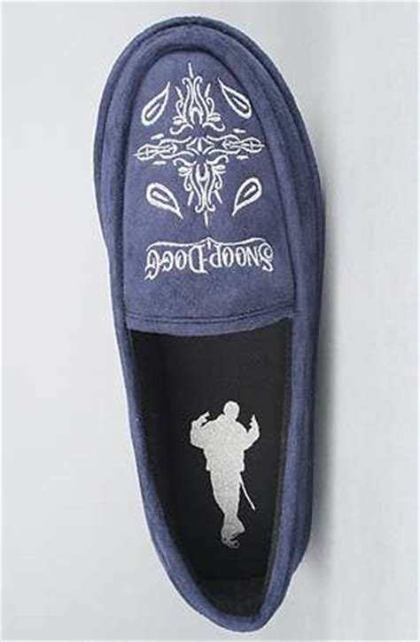 Snoop Dogg House Shoes by Hip Hop House Slippers Snoop Velvet House Shoes