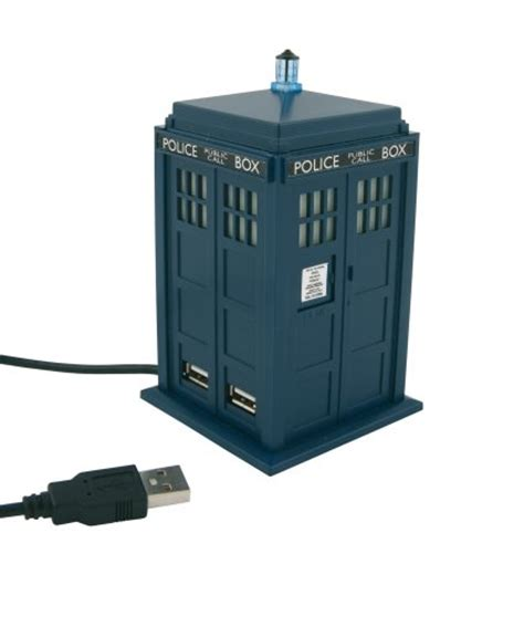 Usb Tardis Complete With Vworp by Dr Whos Cave