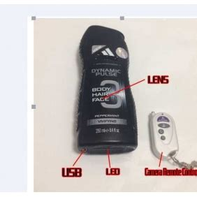mens bathroom camera hd bathroom spy camera black men s shower gel motion