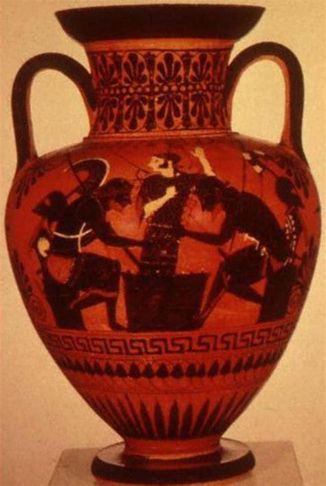 vasi greci a figure rosse greci