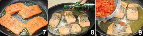 come cucinare il trancio di salmone ricetta trancio di salmone con pomodori e timo la