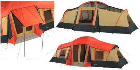 ozark trail 3 room vacation home tent ozark trail 3 room 10 person vacation tent only 139 00 at walmart