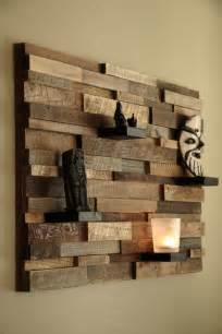 16 Magnificent Exles Of Reclaimed Wood Wall Art Wooden Wall Decoration