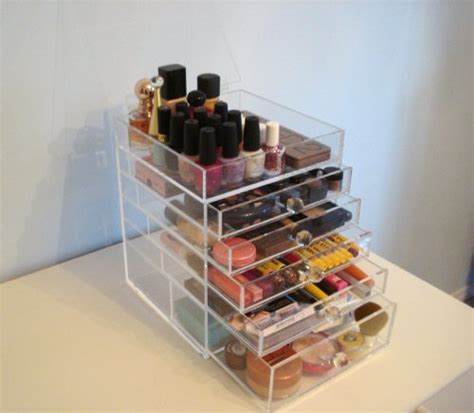 5 Drawer Acrylic Storage by Acrylic Makeup Drawers