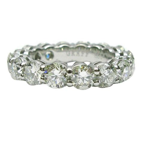 graff 4 80 carats diamonds platinum eternity band ring for