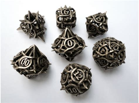 most popular gaming dice awesome dice blog 3d printed dice sets let the good times roll shapeways