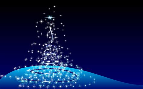 blue christmas tree image wallpaper 9920 wallpaper