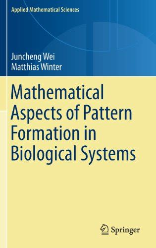 pattern formation definition biology mathematical aspects of pattern formation in biological