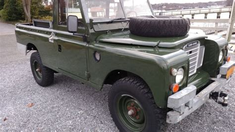 land rover series 3 4 door 1975 land rover series iii 109 quot 3 door