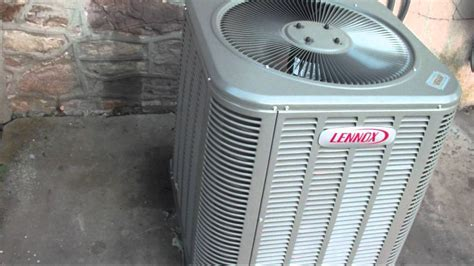 Ac Central 5 Pk 2011 lennox 13 seer central air conditioner running