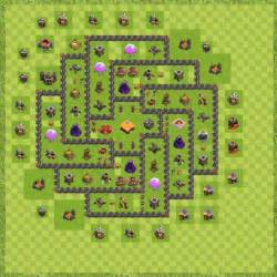 War base town hall 9 new th 9 layout clash of clans for all