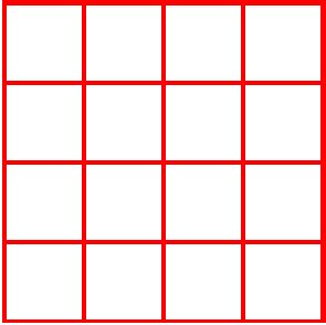 how many square in a 12 by 12 room a grid for drawing regular shapes in mspaint