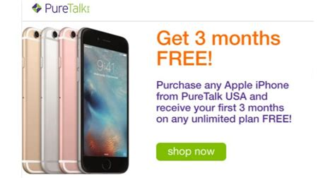 pure talkusa offers  months   service  iphone