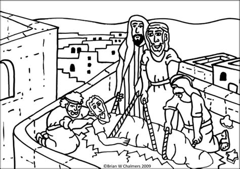coloring pages jesus heals the paralyzed jesus heals the paralytic flip chart ebibleteacher