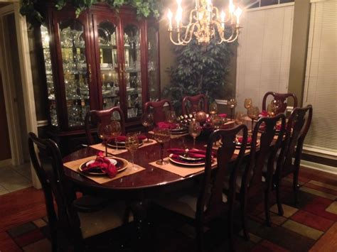 Cherry Dining Room Sets Thomasville Cherry Dining Room Set Marceladick