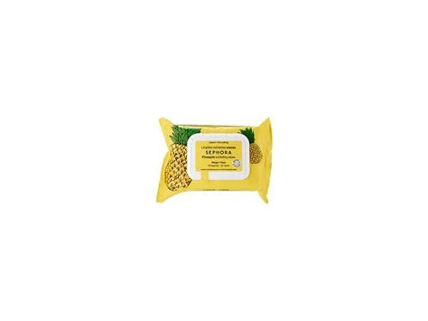Sephora Cleansing Wipes 25 Wipes sephora collection pineapple exfoliating wipes 25 count