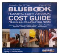 blue book residential cost guide