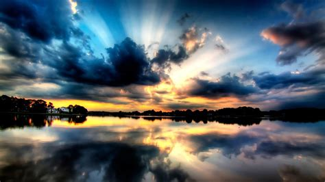 colorful dusk sky wallpaper 127974