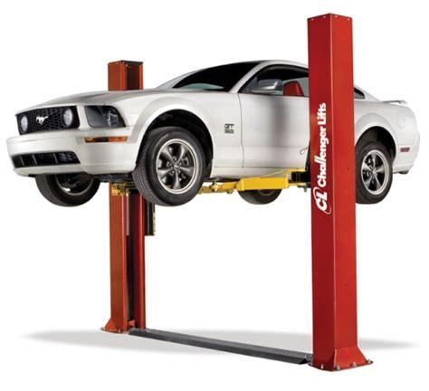 auto lift 2 post 9 000 lb capacity symmetric low