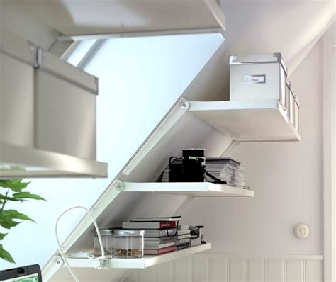 sloping walls 8 best images about sloped wall ideas on wall mount storage and shelves