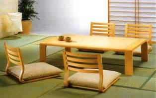 Japanese Dining Room Table The Simple But Always Original Japan