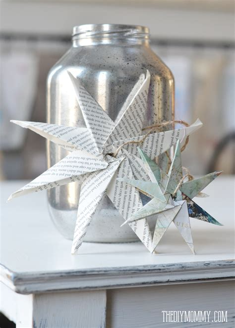 Origami Paper Decorations - origami paper wedding decorations