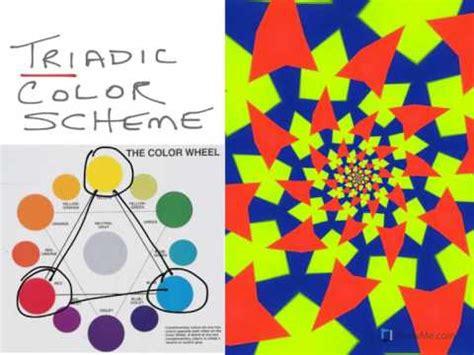 what is a color scheme triadic colors standard color scheme