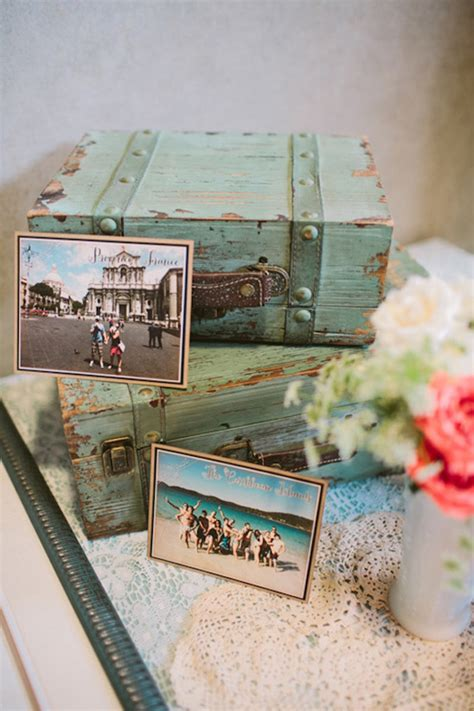 vintage travel decor vintage travel themed wedding