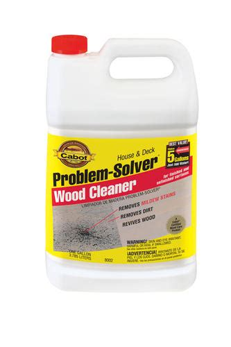 cabot house deck wood cleaner concentrate  gal