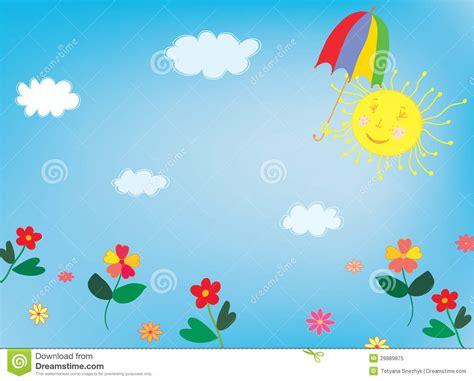 Buku Beautiful Animation With Css3cd Sun I Nieba T蛯o Dla Dzieci Zdj苹cie Royalty Free Obraz