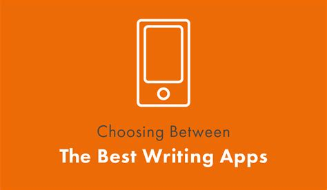 best writing apps for writing apps the best 12 options and which is right for you