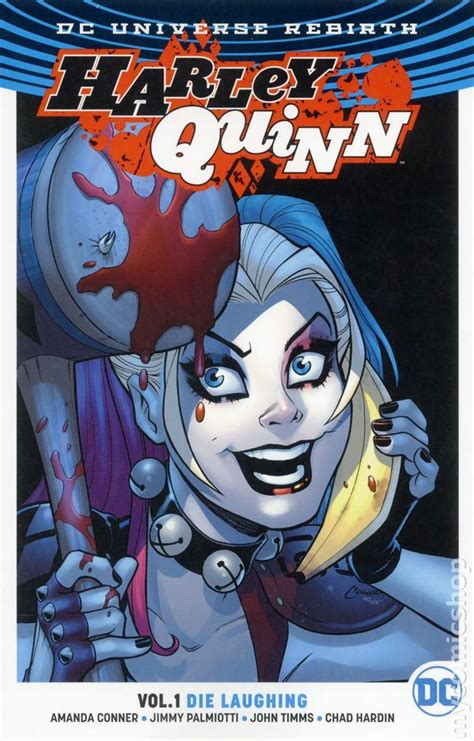 harley quinn the rebirth 1401273688 dc universe rebirth comic books issue 1