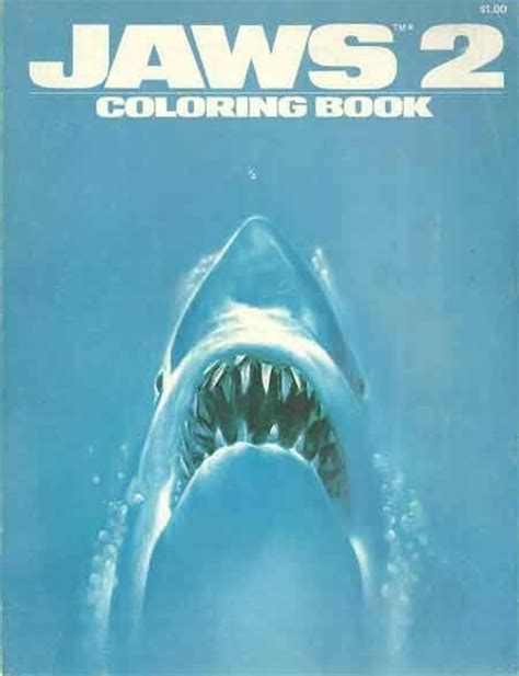 themes in the book jaws jaws coloring book i love the 80s and 70s